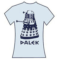 Dr  Who Dalek women's t-shirt:TV/Movie t-shirts:Dr. Who