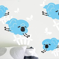 Surface Collective's Wall Tattoos / Wall Decals / Laptop Decals - Product - Sleep Sheep