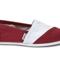 Garnet and White Women's Campus Classic | TOMS.com