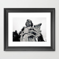 Child angel Framed Art Print by Vorona Photography | Society6