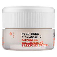 Korres Wild Rose + Vitamin C Advanced Brightening Sleeping Facial: Shop Masks | Sephora
