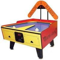 Great American 5' Boom-A-Rang Air Hockey Table - Air Hockey Tables at Hayneedle