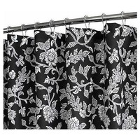 Watershed 2-in-1 Floral Swirl 72x72 Shower Curtain - QVC.com