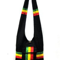 Rasta Shoulder Purse Sling bag Tote bag