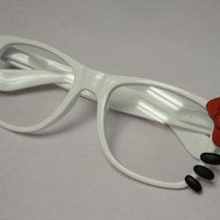 Sugarush Collections ? Hello Kitty Nerd Glasses with whiskers