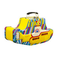 The Beatles Yellow Submarine Embossed Tin Tote - Unique Vintage - Cocktail, Evening  Pinup Dresses