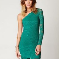 Nightcap One Sleeve Victorian Dress at Free People Clothing Boutique