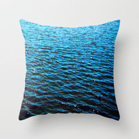 Deep Throw Pillow by Aja Maile | Society6