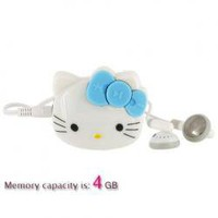 Kitty Head 4GB MP3 Player Hot Sale At Wholesale Price - Gadgetsdealer.com