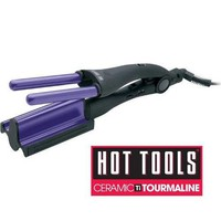 THE NEW HOT TOOLS 2180 3 -IN -1 Hair STYLING IRON WITH CERAMIC TOURMALINE and Deep Waver Iron with