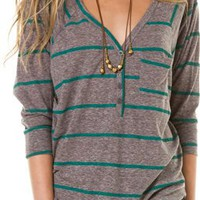 BILLABONG LITTLE LONGER HENLEY | Swell.com