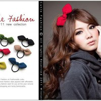 Love wave beam three-dimensional color hair bow special