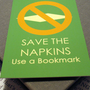 $2.64 Storewide Sale  Save the Napkins by HesedBooksAndGifts