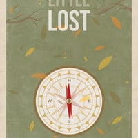 $20.80 Little Lost Art Print by The White Deer | Society6