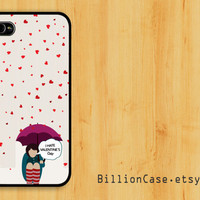 I Hate Valentine -  iPhone 5 4 / 4s Galaxy Case Hard Plastic Case Rubber Case