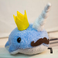 Custom Narwhal Plush - Large