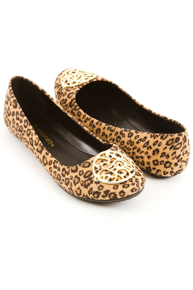 leopard print flat cheetah print shoes from for elyse