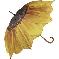 Galleria Sunflower Bloom Stick Umbrella