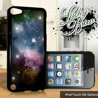 NEW iPod Touch 5 Case  Space Nebula Pretty by LuckybrewDesigns