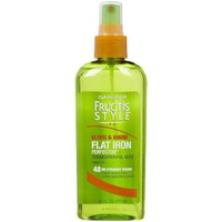 Garnier Fructis Style Sleek & Shine Flat Iron Perfector Straightening Mist 24 Hour Finish, 6 Fluid Ounce