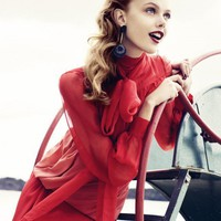 Forties Style (frida gustavsson by andreas ohlund for elle sweden)
