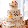 Real Weddings - A Rustic Autumn Wedding in Bordentown, NJ - Birch Tree Cake