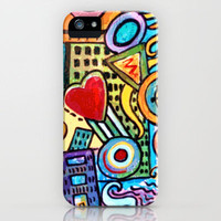 Pretty City iPhone Case by gretzky | Society6
