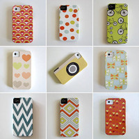 IPhone 4/4s case Choose Your Favorite Design iphone case VIBE geometric colorful redtilestudio