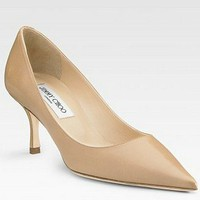 Jimmy Choo Lizzy Leather Pumps