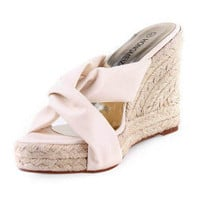Leatherette Upper Wedge Heel Pumps Party/ Evening/ Special Occasion Shoes.More Colors Available - $49.79