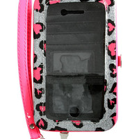 Leopard Hearts Phone Wallet | Shop Accessories at Wet Seal