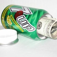 7-up Soda Pop Can Safe
