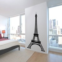 Eiffel Tower 7 Feet Tall  Vinyl Wall Art by ChuckEByrdWallDecals