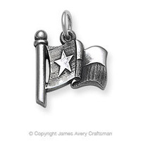 Texas Flag Charm from James Avery