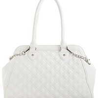 Carlos by Carlos Santana Handbag, Laura Quilted Satchel - Juniors Handbags & Accessories - Macy's