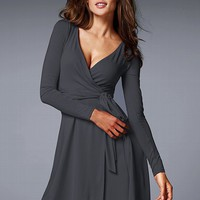 Faux Wrap Dress - Victoria's Secret