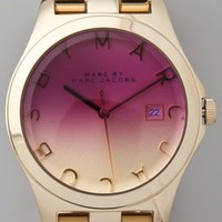 Marc by Marc Jacobs Henry Gold Watch | SHOPBOP