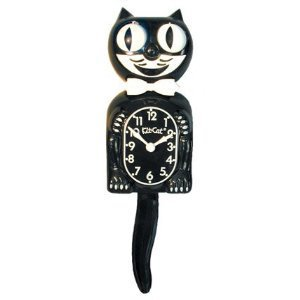 California Clock Company Kit Cat Klock Moving Retro Clock