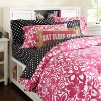 Isabel Floral Organic Duvet Cover &amp;amp; Pillowcases