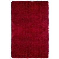 Super Shag Rug - Red