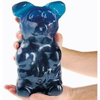 World&#x27;s Largest Gummi Bear - Blue Raspberry: 5 LBS