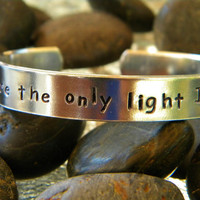American Horror Story inspired bracelet, You&#x27;re the only light I&#x27;ve ever known