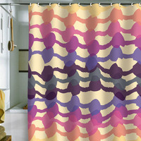 DENY Designs Home Accessories | Karen Harris Code Of Elegance Mulberry Shower Curtain