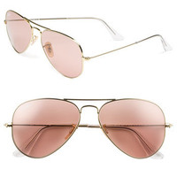 Ray-Ban 'Legend Collection' 58mm Aviator Sunglasses | Nordstrom