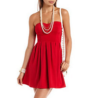 Sweetheart Skater Tube Dress: Charlotte Russe
