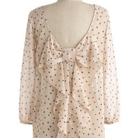 Flash Fe�te Top in Dots