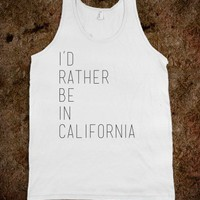 Rather Be In California - Courtney Bond Designs