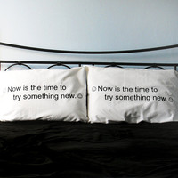 $24.00 Gag Gift His Hers Pillow Cases  Giant by Xenotees
