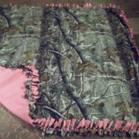 Large Realtree Tie Blanket