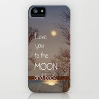 To the Moon and Back iPhone Case by Olivia Joy StClaire | Society6